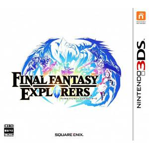 Final Fantasy Explorers [3DS - Used Good Condition]