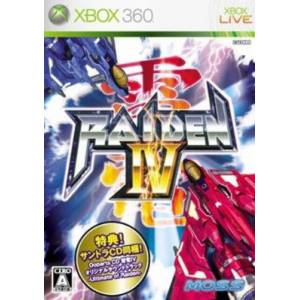 Raiden IV + OST [X360 - used]