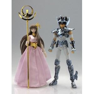 Saint Seiya Myth Cloth - Pegasus Seiya (Revived Bronze Cloth/Broken Ver.) & Saori Kido ~Original Color Edition~