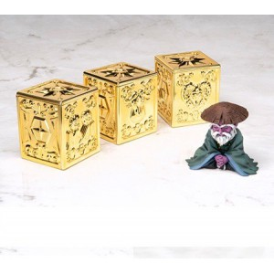 Saint Seiya Myth Cloth Appendix - Gold Cloth Pandora Box Vol.01 + Libra guru [Used]