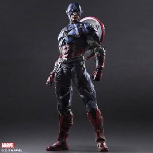 Marvel Universe - Captain America [Variant Play Arts]