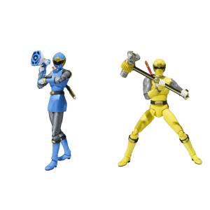 Hurricane Blue & Hurricane Yellow Set - Edition Limitée [SH Figuarts]