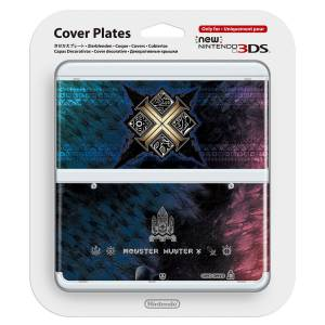 Cover Plates - No. 65 Monster Hunter X / Cross [New 3DS]