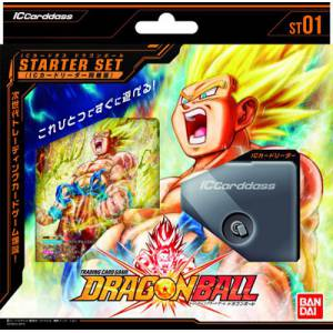 IC Carddass Dragon Ball Vol.1 Starter Set (w/IC Card Reader) [Trading Cards]