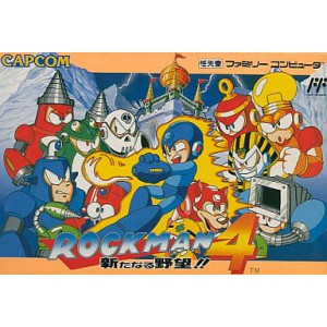 Rockman 4 - Aratanaru Yabou!! / Mega Man 4 [FC - Used Good Condition]