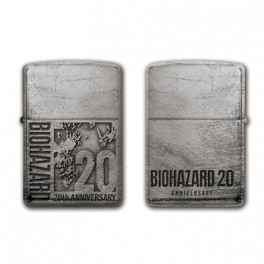 Biohazard 20th Zippo: 20th Logo [Capcom]