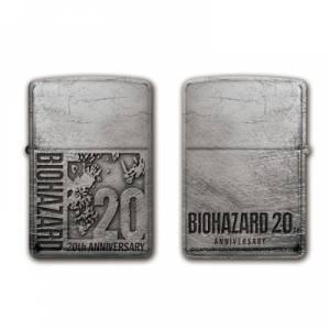 Biohazard 20th Zippo: 20th Logo [Capcom]