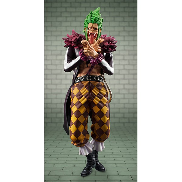 one piece pop portrait of pirates bartolomeo limited edition megahouse excellent model. Black Bedroom Furniture Sets. Home Design Ideas