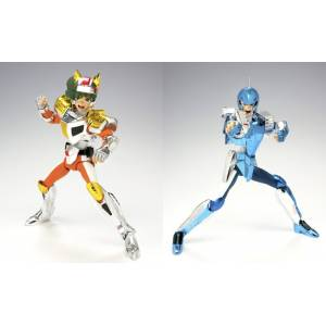 Saint Seiya Myth Cloth - Marine Cloth Ushio & Land Cloth Daichi