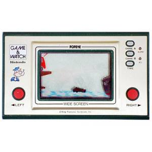Popeye - Wide Screen PP-23 - used / no box [Game & Watch]