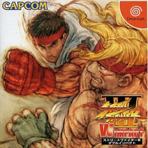 Street Fighter III W Impact [DC - Used Good Condition]
