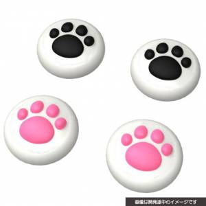 Analog stick cover cat Nyan (for DualShock 4) [Cyber Gadget - Brand new]