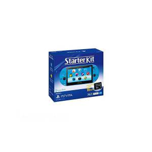 PlayStation Vita Starter Kit - Aqua Blue (PCHJ-10030) [new]
