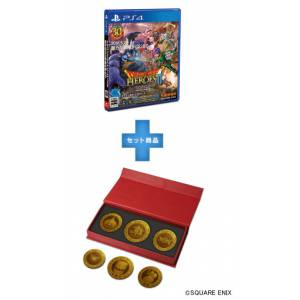 Dragon Quest Heroes II - Dragon Quest 30th Anniversary Monster Coin Set Square Enix Store Limited Edition [PS4]