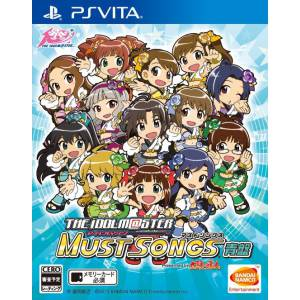 The Idolm@ster Must Songs Blue Board - standard edition [PSVita-Used]