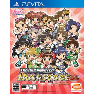 The Idolm@ster Must Songs Red Board - standard edition [PSVita-Used]