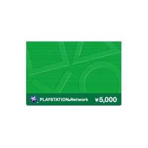 PlayStation Network Prepaid Card ¥5,000 [for Japanese Account]