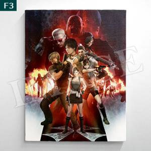 Biohazard 20th Canvas F3 (273×220mm) [e-Capcom Limited]