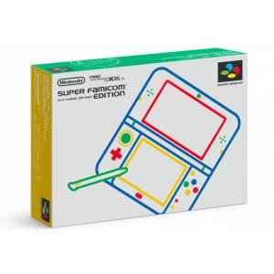 New Nintendo 3DS LL (XL) - Super Famicom Limited Edition [Brand New]