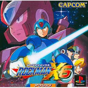 Rockman X6 / Mega Man X6 [PS1 - occasion BE]