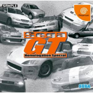 Sega GT Homologation Special [DC - Used Good Condition]