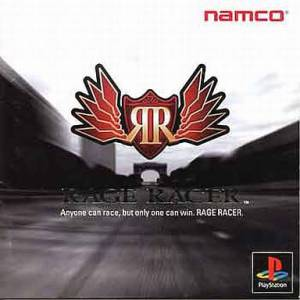 Rage Racer [PS1 - Used Good Condition]