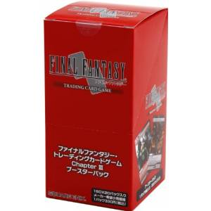 Final Fantasy TCG - Booster Chapter III BOX [Trading Cards]