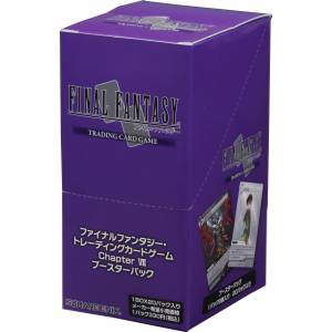 Final Fantasy TCG - Booster Chapter VII BOX [Trading Cards]