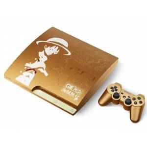 PlayStation 3 Slim 320GB One Piece Kaizoku Musô GOLD EDITION [neuve]