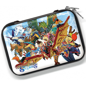 Case / Pouch - Monster Hunter Stories Official pouch for New Nintendo 3DS LL. [Capcom]