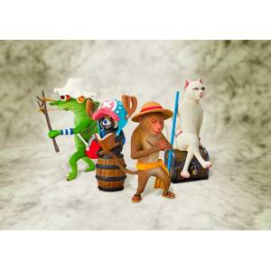 One Piece Artist Special - Clay Animals Set vol.1 (Limited Edition) [Figuarts Zero]