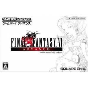 Final Fantasy VI Advance [GBA - Used Good Condition]