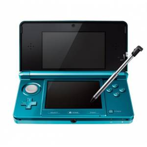 Nintendo 3DS - Aqua Blue [Used / No box]