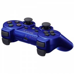 Dual Shock 3 Controller - Metallic Blue [Occasion]