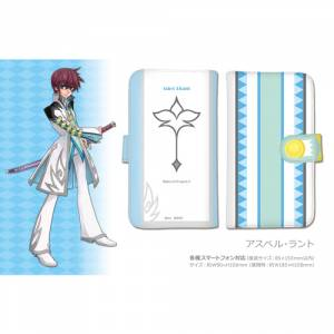 Tales of Graces F - Notebook Type Smartphone Case Asbel Lhant Ver. [Goods]