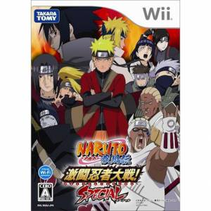 Naruto Shippuden - Gekitou Ninja Taisen! Special [Wii - Used Good Condition]