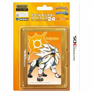 Game Card Case (24) - Pokemon Solgaleo Ver. [New 3DSLL]