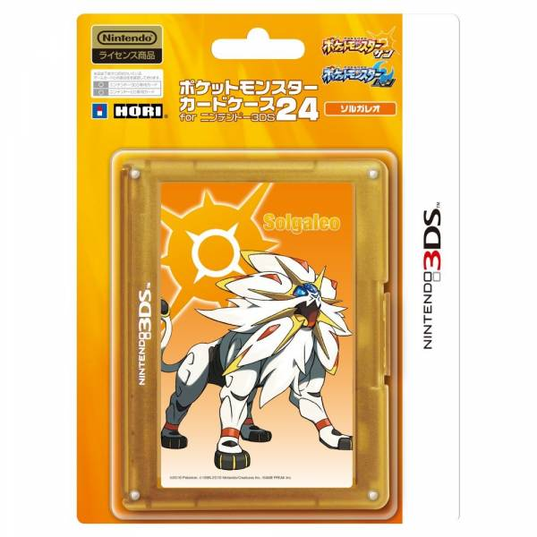 Game Card Case 24 Pokemon Solgaleo Ver New 3dsll Nin Nin