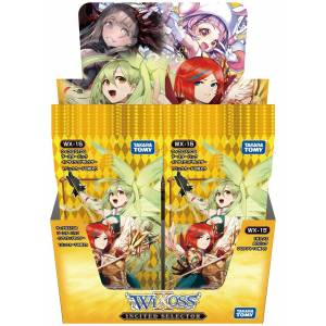 WIXOSS TCG - Expansion Pack Col.15 Incited Selector [WX-15] 20 Pack BOX [Trading Cards]