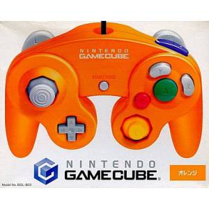 Manette Game Cube - Orange [NGC - occasion BE]