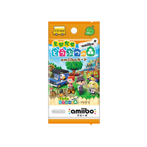 Tobidasu Doubutsu no Mori amiibo+ / Animal Crossing - Amiibo Card (5 pack) [Wii U/3DS]