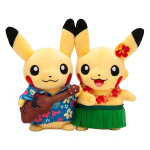 Monthly Paired Pikachu (August 2016) Pokemon Center Limited Edition [Plush Toys]