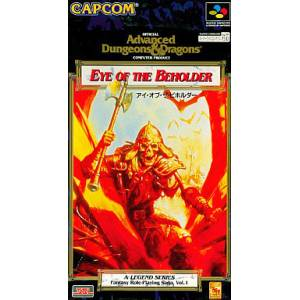 Advanced Dungeons & Dragons - Eye of the Beholder [SFC - occasion BE]