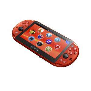 PSVita - Metallic Red PlayStation Vita - Wi-fi (PCH-2000 ZA26) [new]