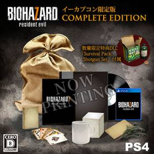 Resident Evil / Biohazard 7 EDITION COMPLETE Cero: D Version - e-Capcom Limited Edition [PS4]