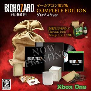Resident Evil / Biohazard 7 EDITION COMPLETE Cero: Z Version - e-Capcom Limited Edition [Xbox One]