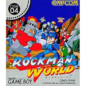 Rockman World / Megaman - Dr. Wily's Revenge [GB - Used Good Condition]
