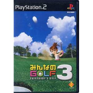 Minna no Golf 3 / Hot Shots Golf 3 [PS2 - Used Good Condition]