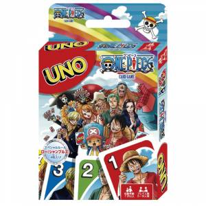 UNO - One Piece Limited Edition Card Game [Goods]