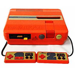 Twin Famicom Red AN-505-RD [Used - no box]